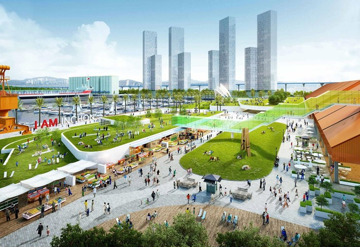Incheon Port Masterplan